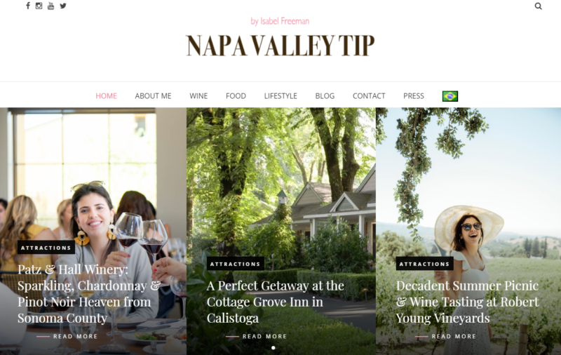 Q&A WITH WINE LOVER ISABEL AND THE CURATOR OF NAPA VALLEY TIP 5